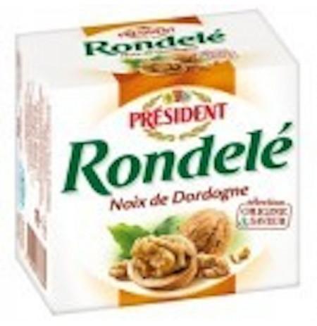 PRESIDENT RONDELE AUX NOIX