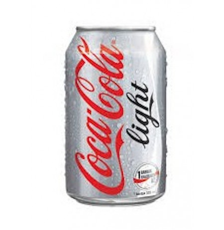 COCA LIGHT CANETTE 33CL