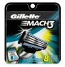 GILETTE MACH3 RECHARGE 8