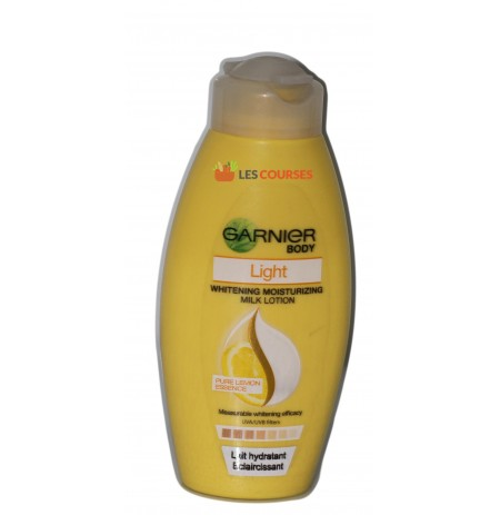 GARNIER LAIT HYDRATANT LIGHT