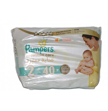 PAMPERS PREMIUM MINI 40P