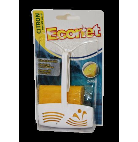 ECONET BLOC WC CITRON *2