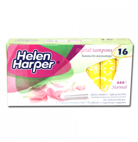 HELEN HARPER TAMPONS DIGITAL NORMAL 16UNITES